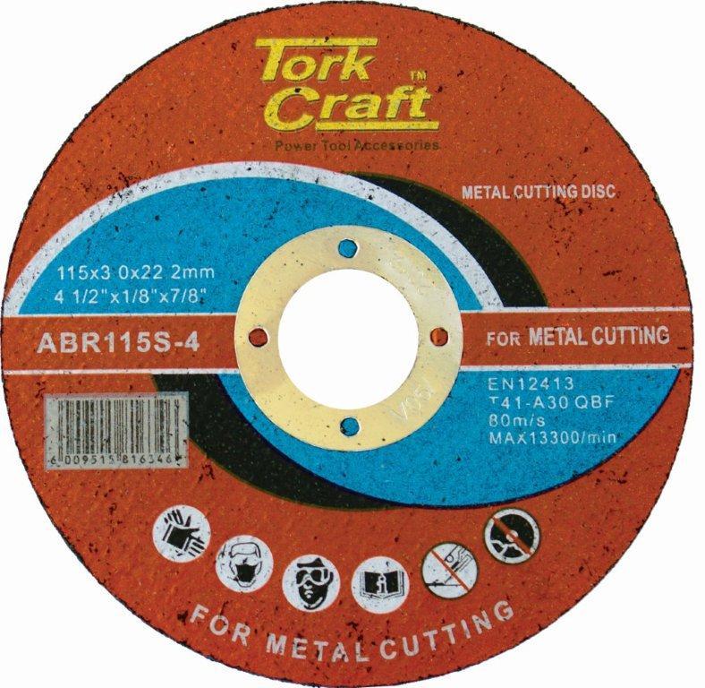 CUTTING DISC STEEL & SS 115 x 3.0 x 22.2