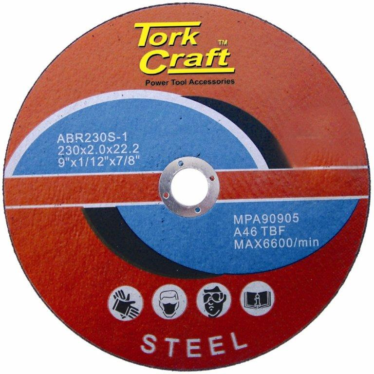 CUTTING DISC FOR STEEL 230 X 2.0 X 22