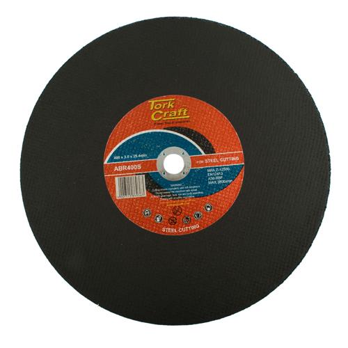 CUTTING DISC STEEL 400 X 3.0 X 25.4