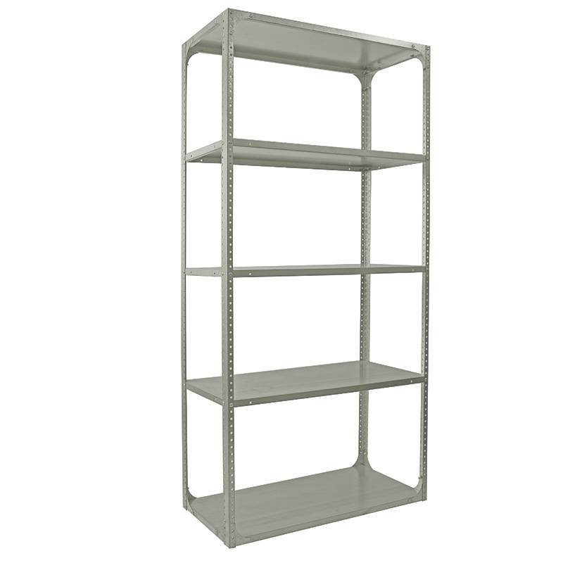 5 Level Bolted Shelving Bay Painted