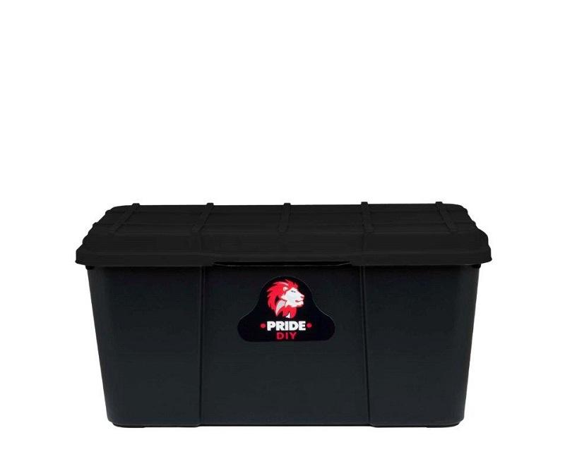 25L PRIDE STORAGE BOX - FULL BLACK