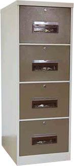 4 Drawer Filing Cabinet Ivory Karoo 1320mm (h) x 470mm (w) x 630mm (d)