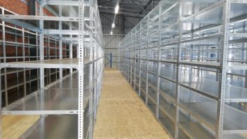 Galvanised Bolted Shelving Diesel Electric 2 (1)