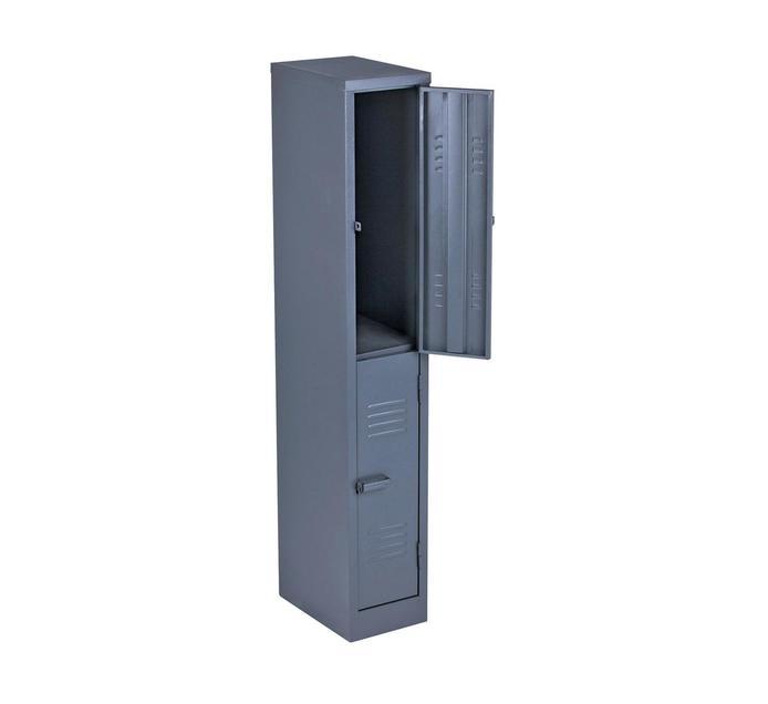 2 Compartment Hammertone 1800mm (h) x 300mm (w) x 450mm (d)