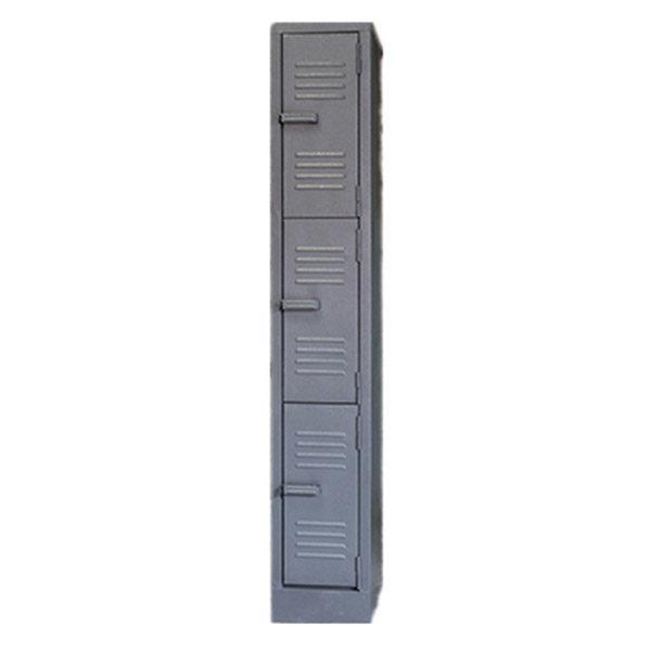 3 Compartment Hammertone 1800mm (h) x 300mm (w) x 450mm (d)