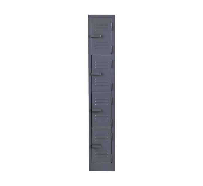 4 Compartment Hammertone 1800mm (h) x 300mm (w) x 450mm (d)