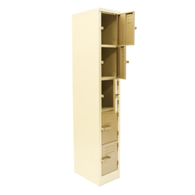 5 Compartment Ivory Karoo 1800mm (h) x 300mm (w) x 450mm (d)