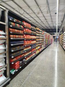 shelves for supermarkets